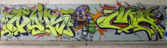 NOIR X SKILZ X MR (seor_violeta) Tags: street art dallas noir texas mr murals joe skillz gpk exvandals vandls