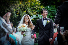 Just Married. (Chilly Yanez) Tags: wedding happy groom bride couple married dress marriage clean tuxedo bubble newlyweds