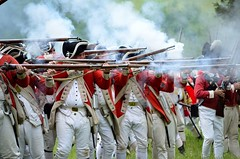 Revolution_117 (Sharp Perspective Photography) Tags: history colonial british reenactment colony musket firelock
