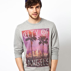 city-of-angels-sweat (Fashion Graphics) Tags: inspiration london art fashion illustration print design clothing graphics screenprint style images photographic direction trends tshirts pigment apparel plastisol