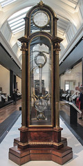 Perpetual motion clock, about 1765, James Cox(about 1723-1800) and John Joseph Merlin (1735-1803), London-England (Kotomi_) Tags: england london clock museum furniture va victoriaandalbertmuseum southkensington