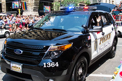 St. Paul Police / Twin Cities Pride Parade (Tony Webster) Tags: gay ford minneapolis police glbt pride parade lgbt squadcar twincitiespride tcpride hennepinavenue 1364 ccby sppd stpaulpolice saintpaulpolice ccbync20150103 cgh1513
