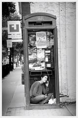 untitled (Wanderfull1) Tags: calgary girl downtown phonebooth kensington