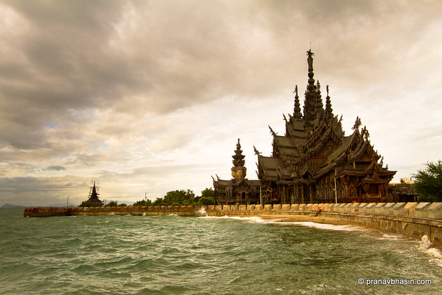 The Sanctuary Of Truth And The Sea, Pattaya