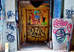 NYC-Chinatown-Graffiti (plutohead) Tags: nyc newyorkcity urban streetart newyork art graffiti chinatown gothamist curbed sfist laist brownstoner