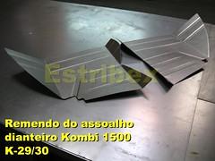 Remendo-Assoalho-Dianteiro-Kombi-1500 (0) (Estribex) Tags: vw reforma 1500 kombi antiguidades restauração barrafunda reliquias carrosantigos estribex
