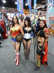 Wonder Woman with Magdalena Zatanna & Bane at SDCC 2013 (Cutterin) Tags: woman wonder dc san comic cosplay diego wonderwoman comiccon bane con sdcc zatanna 2013 dalemortonstudio sdcc2013 sandiegocomiccon2013 cutterin