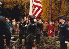 Flag Lowering USMLM 1 Oct 1990