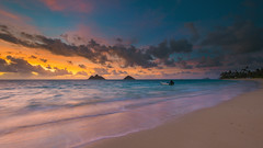 The Colours of Lanikai III (rayman102) Tags: seascape sunrise hawaii day cloudy oahu windward kailua lanikai d8