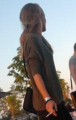106 (AnciP) Tags: girl cigarette candid swedish smoking blond