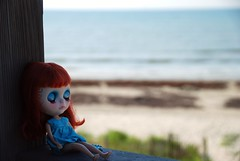 Mira lulled by the sound of the ocean....