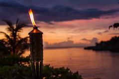 Negril - Romantic dinner at Rockhouse Hotel (Thomas G. from U.) Tags: sunset sea sun outdoor torches jamaica activity hanover negril beachresort westmoreland naturalenvironment caribeansea romanticdinner rockhousehotel greaterantilles aktivitten islandcountry 1759n7648w