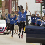 """<b>Homecoming Parade</b><br/> Photo By: Hanna Jensen<a href=""""http://farm4.static.flickr.com/3792/10141222205_a9711f21bf_o.jpg"""" title=""""High res"""">∝</a>"""