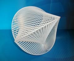 3D Printed Cardioidal Variation 3/2 (fdecomite) Tags: david art print 3d math string blender press povray cardioid shapeways