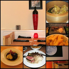Dinner for two (pefkosmad) Tags: birthday dinner restaurant meal gloucester treat theoldbell tigerseyefusionrestaurant