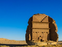 MADAIN SALEH 2013-68 (positronicxy24) Tags: history landscape photography fuji historic unesco worldheritagesite saudi arabia saudiarabia x20 nabateans fujix20 fujifilmx20 madainsalej
