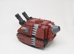 The Armadillo (Titolian) Tags: war punk tank lego diesel armor future cannon armadillo warfare treads vision:outdoor=0839