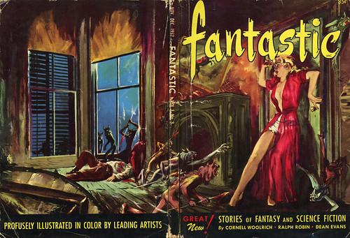 Fantastic Magazine - Nov/Dec 1952 (with back)