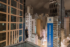 roof rehab (tomms) Tags: urban night hongkong lights cityscape cast density brokenfoot rooftopping