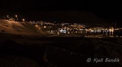 Storbukt night (kjellbendik) Tags: norge vinter hus sne finnmark honningsvg bygning magerya byggning naturoglandskap storbukt nattmrketid snesn