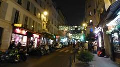 Paris balad bynight: Montmartre (valkiribocou) Tags: paris balade baladeparisienne serrisbalad randobalade