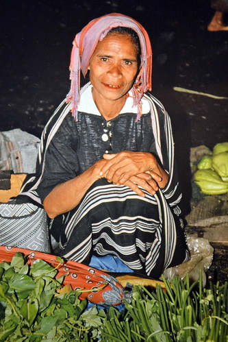 Indonesia - Flores - Woman On Market