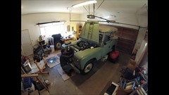 Removing an Engine from a Land Rover IIa (BHCMBailey) Tags: work timelapse video engine rover land series 88 landrover iia