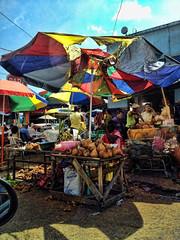 Colombia Market-street, by Diego Rios (Diego F. Rios) Tags: umbrella colorful colombia coconut marketplace streetmarket coconutshop diegorios calivalle