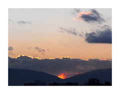 Sunset (Explored) (Stella VM) Tags: blue sunset sky sun mountain beautiful clouds sofia explore bulgaria  vitosha