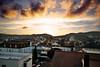 Bad Wildungen / Brunnenallee (S. Molitorisz) Tags: sunset bad altstadt overview wildungen brunnenallee