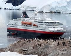 MV Nordkapp at Neko (ericy202 (Away to see some Ice for a bit)) Tags: cruise harbour ships antarctica historic neko mv nordkapp
