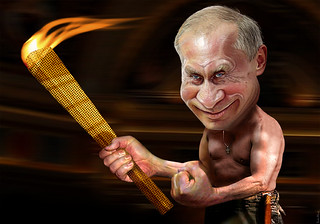 Vladimir Putin - Olympic Host