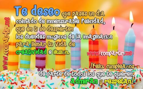 Frases De Amor Frase De Cumpleaños Formales Para Compartir Por