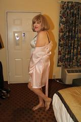 new96645-IMG_7784t (Misscherieamor) Tags: tv feminine cd motel tgirl transgender mature sissy tranny transvestite satin crossdress ts gurl tg travestis shoeless travesti travestie m2f fullslip xdresser tgurl