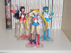 Figuarts Moon, Mars & Mercury (aly.the.luvly) Tags: mars moon mercury sailor figures figma figuarts