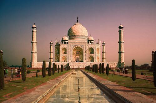 Agra IND - Taj Mahal 10