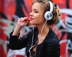 Red ~ Spicy ~ Music (anexxx) Tags: red portrait music woman white black hot sexy girl beautiful beauty leather 50mm graffiti foxy model nikon fotografie with sweet bokeh outdoor awesome details 14 profile poland polska lips sensual blonde attractive stunning headphones expressive spicy lipstick mm lover lovely fotografia nikkor 50 portret muzyka ze polishgirl d300 dziewczyna usta plener kobieta czerwone 14g zdjęcia modelka portretowa nikkor50mm14g czerwoneusta portretowe słuchawkami