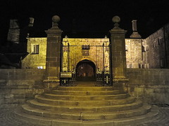Hoghton Tower ghost night (perseverando) Tags: night dark tour ghost shakespeare tudor haunted spooky candlelit jamesi hoghtontower jacobean perseverando
