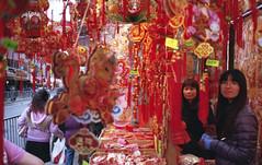 (David Chee) Tags: street new nyc newyork film analog zeiss chinatown fuji superia year chinese contax 400 carl fujifilm mott t2 sonnar