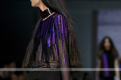 VAMFF 2014 - Independent Runway - Neo Dia (Naomi Rahim (thanks for 3 million visits)) Tags: black beauty fashion hair dress purple models makeup melbourne independent indie runway loreal 2014 yenmagazine neodia vamff