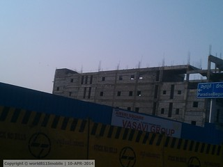 Sangeet Multiplex under-construction in Secunderabad