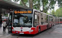 Wien (austrianpsycho) Tags: vienna wien bus austria tram tramway bushaltestelle busstation bim gelenkbus citaro wienerlinien 8717 österreich linienbus 48a strasenbahn doktorkarlrennerring