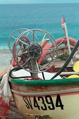 Noli - fishing tools (rupertalbe - rupertalbegraphic) Tags: sea italy beach seaside fishing barca italia mare ship liguria alberto finale pesca spiaggia noli mariani ligure reti rupertalbe albertomariani rupertalbegraphic