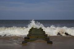 crash (Beau Finley) Tags: ocean beach pier surf wave pilings delaware atlanticocean rehobothbeach crashingwave beaufinley wavecrash