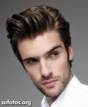 corte de cabelo masculino social