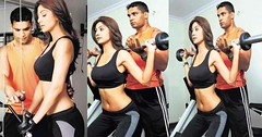 Shilpa Shetty  looks Sensious while working out in gym (amasthakur68) Tags: shilpashetty
