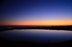 Dawn (Ross-J) Tags: sky water sunrise dam ceres geelong barrabool