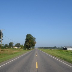 The Road Ahead. Day 92. Rt. 31 in Atmore, AL. Know I'm getting close to the coast cause the No-See-Ums are back. #TheWorldWalk #travel #wwtheroadahead