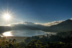 Lake Buyan - 0513 (franciscus nanang triana) Tags: morning travel bali sun lake landscape photo foto fujifilm pagi danu denpasar triana danau nanang franciscus bratan buyan tamblingan