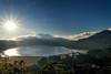 Lake Buyan - 0513 (franciscus nanang triana) Tags: morning travel bali sun lake landscape photo foto fujifilm pagi danu denpasar triana danau nanang franciscus bratan buyan tamblingan